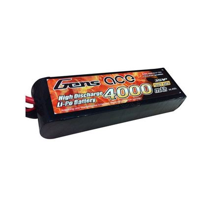 Picture of Gens Ace GA4000-3S25-TRX 4000mAh 3S 11.1v 25c