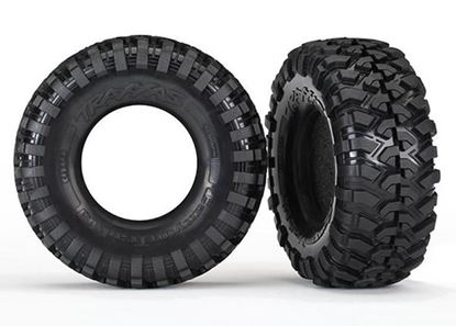 Picture of Traxxas 8270 Tires, Canyon Trail 1.9/ Foam Inserts (2)