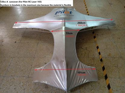 Picture of Pilot-RC Suncover for 120cc Aerobatic Plane- Type A