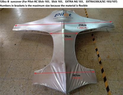 Picture of Pilot-RC Suncover for 120cc Aerobatic Plane- Type B