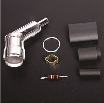 Picture of Rcexl CAPS-2105 Spark plug caps and boots for NGK -CM6-10MM -120 degree