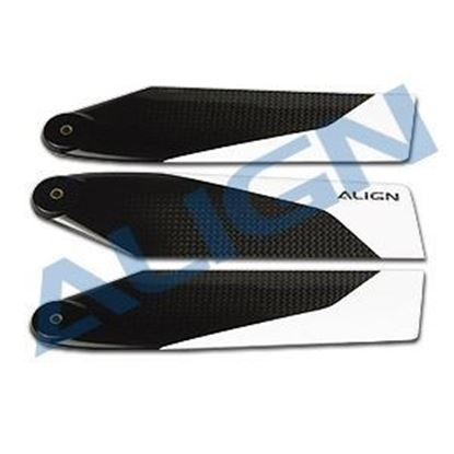 Picture of HQ1200B  120 Carbon Fiber Tail Blade / 3