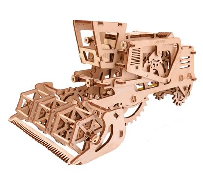 Picture of UGEARS 120136 Combine Harvester