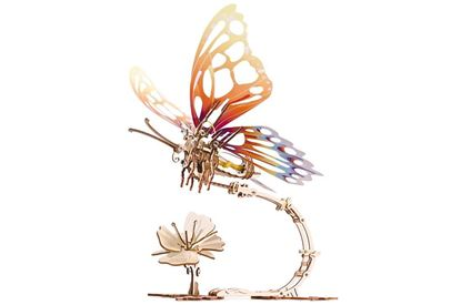 Picture of UGEARS 121010 Butterfly mechanical model kit