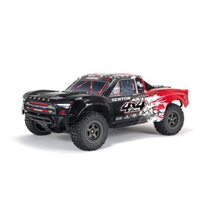 Picture of Arrma ARA4303V3T2 NEW 1/10 SENTON 3S BLX 4WD Brushless SCT RTR Red