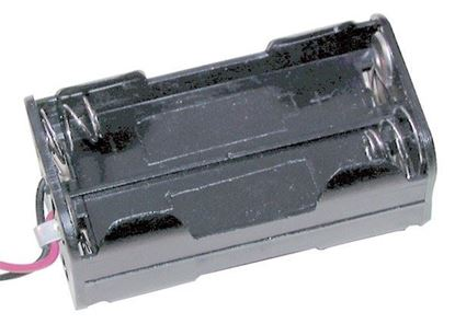 Picture of Duratech PH9200 Battery Holder 4AA Square