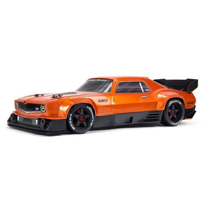 Picture of Arrma ARA7617V2T2 1/7 FELONY 6S BLX Street Bash All-Road Muscle Car RTR, Orange