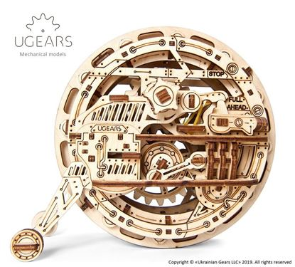 Picture of UGEARS 120990 Monowheel mechanical model kit