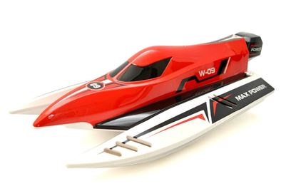 Picture of 915 Wltoys 2.4G Brushless High Speed 45km/h Racing RC Boat - Red