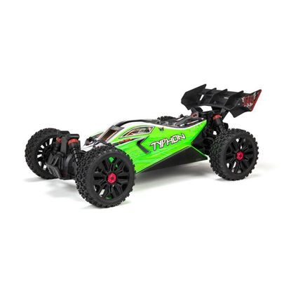 Picture of Arrma ARA4206V3  1/8 TYPHON 4X4 V3 MEGA 550 Brushed Buggy RTR, Green