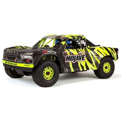 Picture of Arrma ARA7604V2T1 MOJAVE 6S BLX 1/7 SCT RTR FIRMA SLT3 / DP-RX Green 60+MPH