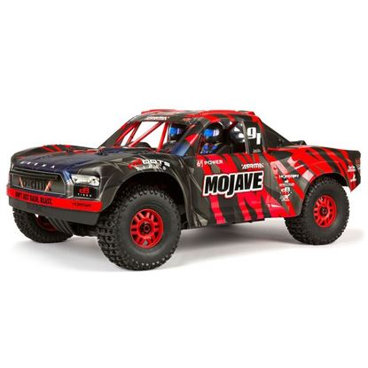 Picture of Arrma ARA7604V2T2 MOJAVE 6S BLX 1/7 SCT RTR FIRMA SLT3 / DP-RX Red 60+MPH