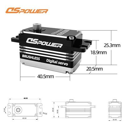 Picture of DS Power DS-B011 Low Profile HV Servo