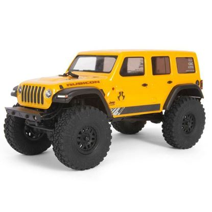 Picture of Axial AXI00002T2 1/24 SCX24 2019 Jeep Wrangler JLU CRC Rock Crawler 4WD RTR- Yellow