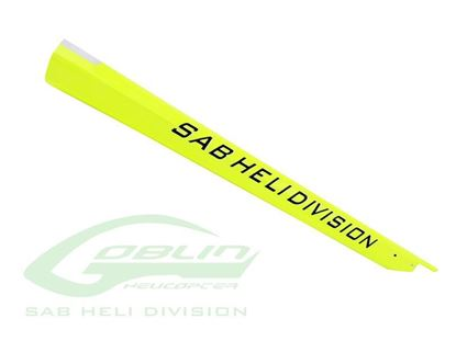 Picture of SAB H0863-S Carbon Fiber Tail Boom- Goblin 420 Sport- Yellow