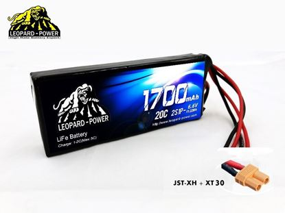Picture of Leopard Power 2S 6.6v 850mah 20c Life Battery with XT60
