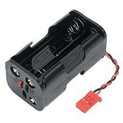 Picture of FUSE10129 4 CH Tx Battery Holder JST Plug
