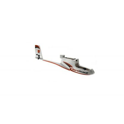 Picture of Hobbyzone HBZ3801 Fuselage with Elev/Rudder Servos: AeroScout