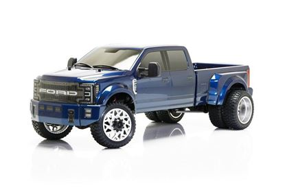 Picture of Cen Racing 8980 FORD F450 SD 1/10 4WD Custom Truck DL-Series RTR (Blue Galaxy)