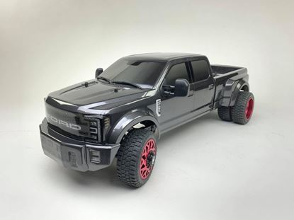 Picture of Cen Racing 8981 FORD F450 SD 1/10 4WD Custom Truck DL-Series RTR (Grey Titanium)