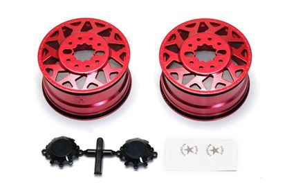 Picture of Cen Racing CD0601 F450 SD American Force H01 CONTRA Wheel (Red, w/ blk cap) DL-Series