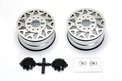 Picture of Cen Racing CD0602 F450 SD American Force H01 CONTRA Wheel (Silver, w/ blk cap) DL-Series