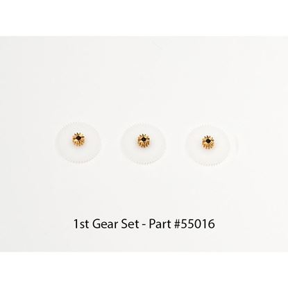 Picture of Hitec 55016 METAL PLASTIC FIRST GEAR SET (3PCS)