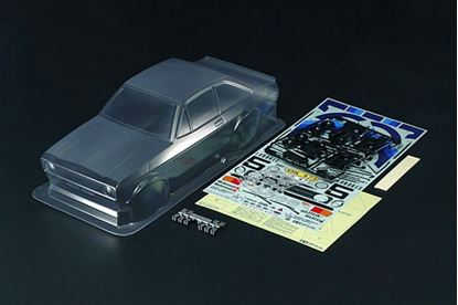 Picture of Tamiya 51658 1/10 Ford Escort Mk.II Rally Body Parts Set