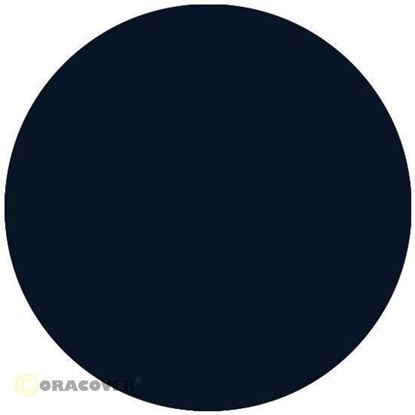 Picture of Oracover 21-019-002  iron-on film - width: 60 cm - length: 2 m Corsair Blue