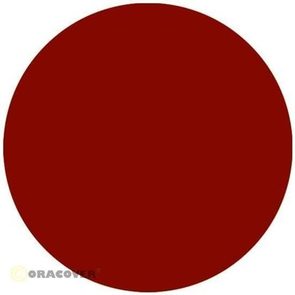 Picture of Oracover 21-023-002  iron-on film - width: 60 cm - length: 2 m Ferri Red