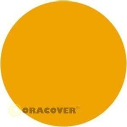 Picture of Oracover 21-030-002  iron-on film - width: 60 cm - length: 2 m Cub Yellow