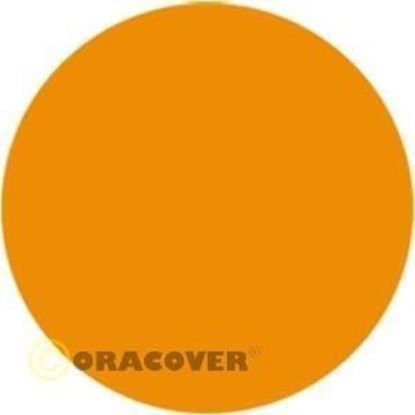 Picture of Oracover 21-032-002  iron-on film - width: 60 cm - length: 2 m Golden Yellow