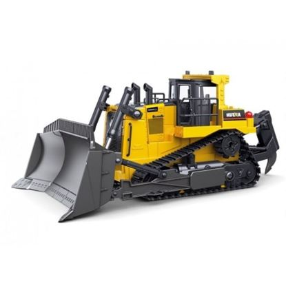 Picture of Huina 1569 RC BULLDOZER  1/16 scale, 9 Channel (2021 MODEL)