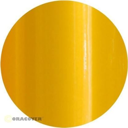 Picture of Oracover  21-037-002 iron-on film - width: 60 cm - length: 2 m Pearl Golden Yellow