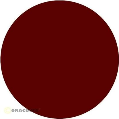 Picture of Oracover  22-020-002 iron-on film - width: 60 cm - length: 2 m Scale Red