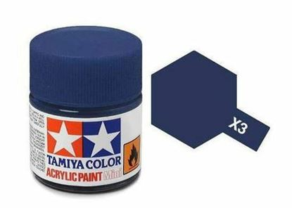 Picture of Tamiya 81503 X-3 Royal Blue 10ml Acrylic Paint