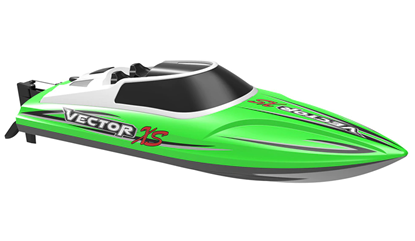 Picture of Volantex V795-4 Vector XS ABS Hull Material 30km/h Self-righting Mini RC Boat Green