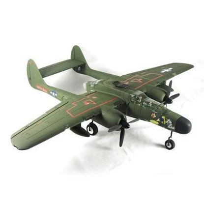 Picture of DYNAM DY8973GN P-61 BLACK WIDOW TWIN 1500MM PNP Green