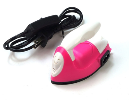 Picture of Dancing Wings LS-YD-01-010 Micro Handheld S size Flat Electric Iron (Red)