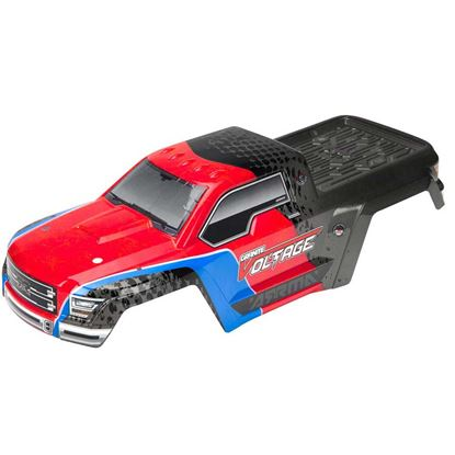 Picture of Arrma  ARAC3326 AR402196 Body Pntd/Decaled GRANITE VOLTAGE Red/Blk