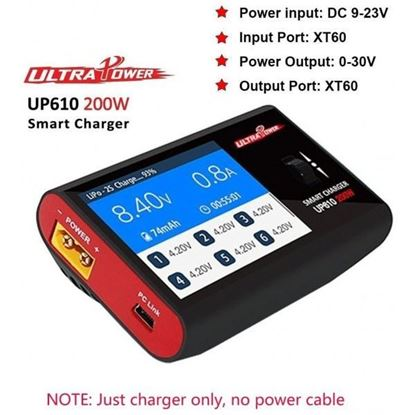Picture of Ultra Power UP610 Smart LiPo Battery Balance Charger 200W 10A
