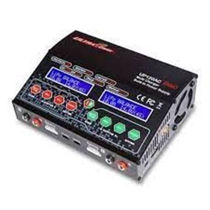 Picture of Ultra Power UP120AC Duo Dual Port (2x 12Amps, 2x 120Watts) AC/DC Multicharger