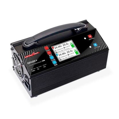Picture of Ultra Power UP600+ 2x600W 25A 2-6S Dual Channels Lipo Battery Balance Charger