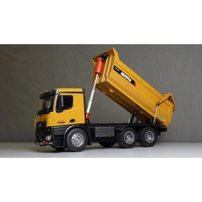 Picture of Huina 1582 2.4GHz 10Ch 1/14 RC Dump Truck, full metal