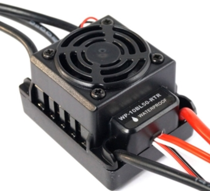 Picture of Hobbywing HHWP-10BL50-RTR SBEC Brushless 50A ESC- Waterproof- No retail packaging