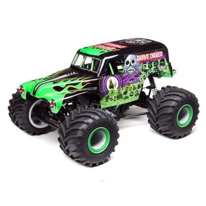 Picture of LOSI LOS04021T1 Solid Axle Monster Truck, Grave Digger RTR 1/10