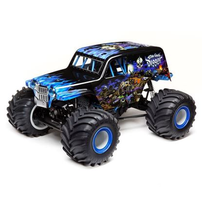 Picture of LOSI LOS04021T2 Solid Axle Monster Truck, SonUvaDigger RTR  1/10