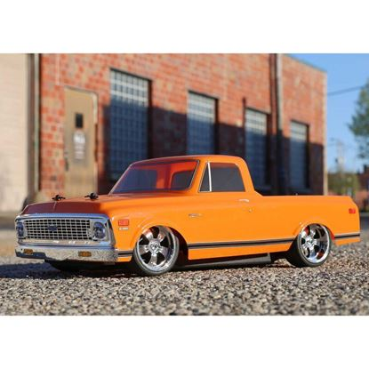 Picture of LOSI/TLR LOS03034T1 1/10 1972 Chevy C10 Pickup Truck V100 AWD RTR, Orange