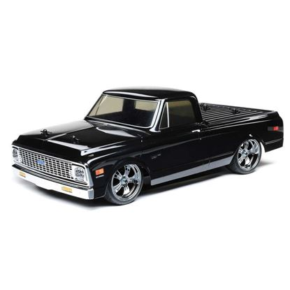 Picture of LOSI/TLR LOS03034T2 1/10 1972 Chevy C10 Pickup Truck V100 4WD RTR, Black