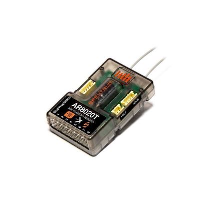 Picture of Spektrum AR8020TNRP 8-Channel Telemetry Receiver (replaces AR8010) No Retail Packaging